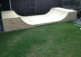 Custom Skateboard Ramps Sydney